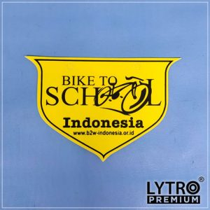 bike tag - bike to school