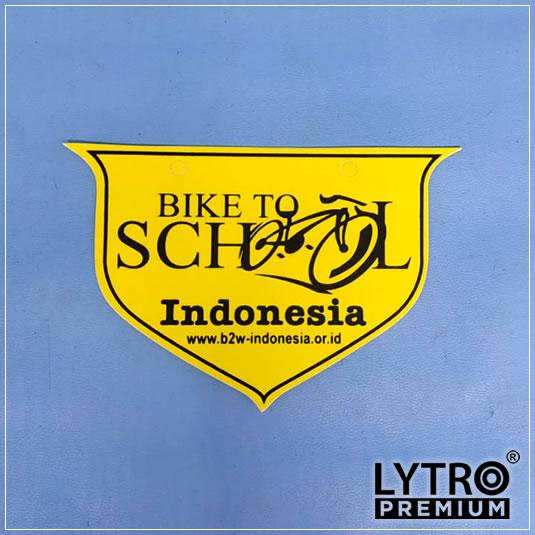 bike tag - bike to school
